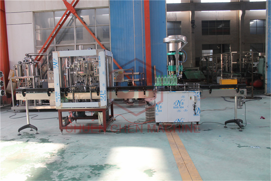 500-800BPH Carbonated Drink Filling Machine , Beer Bottle Capping Machine
